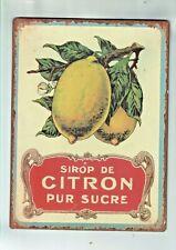 Morgan Finch Wall Plaque Citron Pur Sucre RRP $19.99  M31