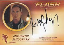 THE FLASH SEASON 2 - JWS1 JOHN WESLEY SHIPP (HENRY ALLEN) AUTOGRAPH CARD