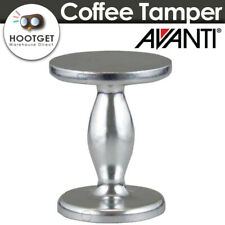 [Dual Size 50/55mm] Avanti Coffee Tamper Cast Aluminium Barista Accessory