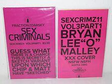 SEX CRIMINALS #11 - O'Malley XXX VARIANT + Regular Cover - FRACTION Zdarsky - M