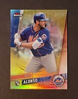 2019 Topps Finest Pete Alonso RC Rookie Gold Refractor /50 - New York Mets