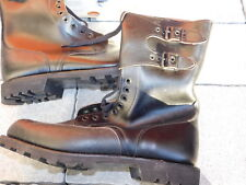 Chaussure en Cuir Leather Shoes Rangers Meindl Taille 50 Leder Police militaire