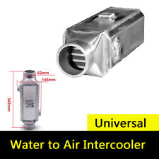 NEW Premium Aluminum Turbo Front-Mount Water to Air Intercooler Extra Cooling