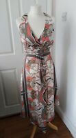 DEBUT Debenhams dress size 6 excellent condition wedding holiday summer lined