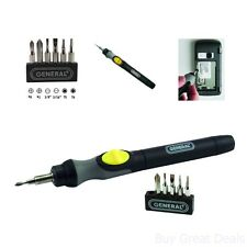 Cordless Electric Power Precision Screwdriver Battery Small Mini Bits Jeweler