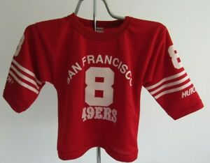 Vintage Hutch 90s Steve Young San Francisco 49ers Youth Jersey USA made