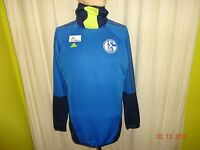 FC Schalke 04 Original Adidas Spieler Training Sweatshirt 2013/14 Gr.M TOP
