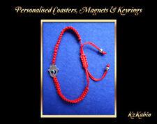 Good Luck Kabbalah BRACELET Hamsa Hand of GOD Evil Eye Red Adjustable Bracelet