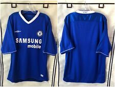 Chelsea 2004/05 RARE Sponsor Home Soccer Jersey Large EPL
