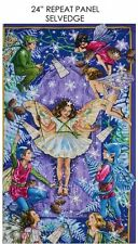 Enchanted Fairy Panel, Michael Miller, By Cicely Mary Barker