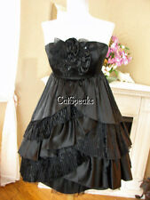 NWT BETSEY JOHNSON COCKTAIL BLACK CAN CAN DRESS~2 **FINAL SALE**