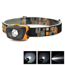300Lumens 3W Mini Super Bright Headlight Headlamp Flashlight Lamp Torch Light