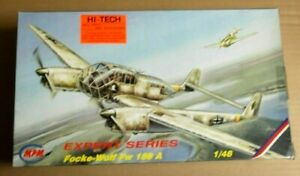 MPM. 1/48.Focke-Wulf Fw 189 A. Hi Tech Set VG Condition.  Checked and Complete.