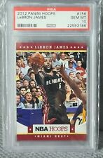 2012 PANINI HOOPS🔥LeBRON JAMES🔥#156🔥PSA 10🔥 POP 7