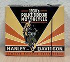 Harley-Davidson 1930's Police SIDECAR Motorcycle cast iron By Xonex 1997 In box