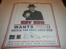 rev run wants you phat farm tank top mens 2xl run to the polls vote now run dmc