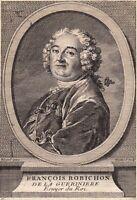 Portrait XVIIIe François Robichon de La Guérinière Écuyer Équitation Essay Orne