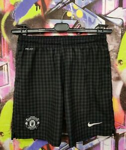 Manchester United FC 2012 2013 Away Football Soccer Shorts Nike Mens size S