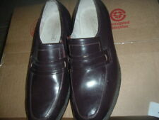 Vintage Mens Leather Loafers- Size 10.5