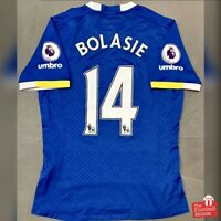 Authentic Umbro Everton 2016/17 Home Jersey - Bolasie 14. Size S, Exc Cond.
