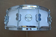 """PDP by DW 14"""" CONCEPT MAPLE PEARLESENT WHITE SNARE DRUM for YOUR DRUM SET! #V754"""