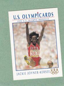 JACKIE JOYNER-KERSEE 1992 US OLYMPIC HOPEFULS IMPEL CARD #HP7