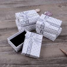 Geschenkbox 5x Geschenkkarton Aufbewahrungsbox Schachtel Deko Schmuck Kasten Neu