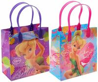 12PCS Disney Tinkerbell Goodie Party Favor Gift Birthday Loot Bags