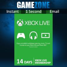 Xbox Live 14 Días De Prueba Membresía Oro Para Microsoft Xbox One/Xbox 360 2 semana