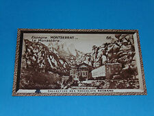 CHROMO PHOTO CHOCOLAT SUCHARD 1934 EUROPE ESPAGNE ESPAÑA MONASTERE MONTSERRAT