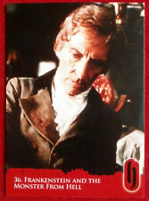 HAMMER HORROR - Series Two - FRANKENSTEIN AND THE MONSTER FROM HELL - Card #36