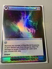 Chaotic Card STRAIN OF THE TIDE Super Rare Foil NM