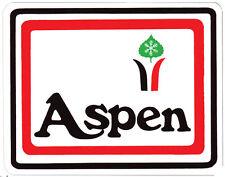 Aspen, Colorado  Vintage Style 1970's  Travel Decal Sticker Label  Snow Skiing
