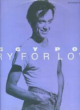 IGGY POP cry for love 12INCH 45 RPM 1986 GERMAN