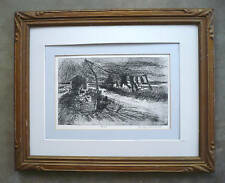Jean Claude Imbert, Signed Etching 4/30 limited LISTED