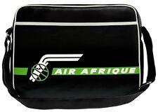Air Afrique Tasche Umhängetasche Schultertasche Sporttasche schwarz - Logoshirt