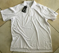 ADIDAS CLIMALITE SIZE 2XL WHITE RELAXED SHORT SLEEVE POLO GOLF SHIRT NWT $50