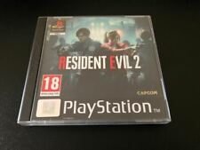 Resident Evil 2 PS4 Fan Custom PlayStation PS1 Style Covers - No Case