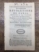 Régiment de Chateauvieux 1792 Gardes Suisse Riom Libourne Saint Nazaire Boissise