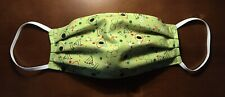 Adult Washable Face Mask Science Biology Nerds Dna Green Red Ships In 1 Day!