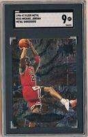 1996-97 Fleer Metal Michael Jordan Metal Shredders #241 SGC 9 MINT Bulls