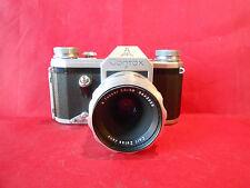 Contax F Spiegelreflexkamera mit Objektiv Carl Zeiss Jena Tessar 2,8 / 50 mm