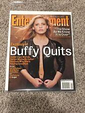 Entertainment Weekly Ew Magazine #699 Mar 7 2003 Sarah Michelle Gellar Buffy