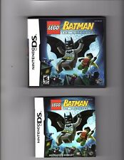 Lego Batman The video Game Nintendo DS Video Game, Case & Booklet 2006 Used