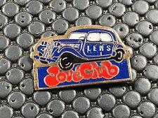 PINS PIN BADGE CAR CITROEN TRACTION JOUE CLUB LENS