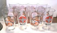 Tony Stewart #20 Nascar Winston Cup Champion Coca-Cola Pint Beer Glasses 12 pcs