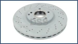 Genuine Mercedes-Benz Front Disc Brake Rotor Left OR Right OE 2034211312