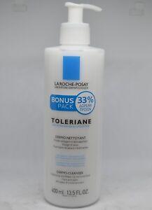 La Roche-Posay Toleriane Dermo-Cleanser Face & Eyes 400ml-13.5 fl.oz. (+33%free)
