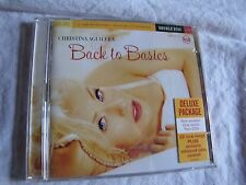 CHRISTINA AGUILERA - BACK TO BASICS - 2006 Deluxe DOUBLE CD/Video near new