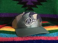 Vintage Toronto Argonauts CFL Logo Athletic Double Sharktooth Snapback Hat Cap